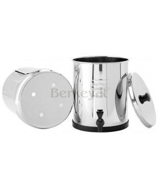 BIG BERKEY : Filtro d'acqua - Può ricevere da 2 a 4 filtri Black Berkey (Rif. :  BK4X2-BB).