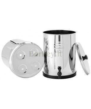 ROYAL BERKEY : Filtro d'acqua - Può ricevere da 2 a 4 filtri Black Berkey (Rif. :  RB4X2-BB).