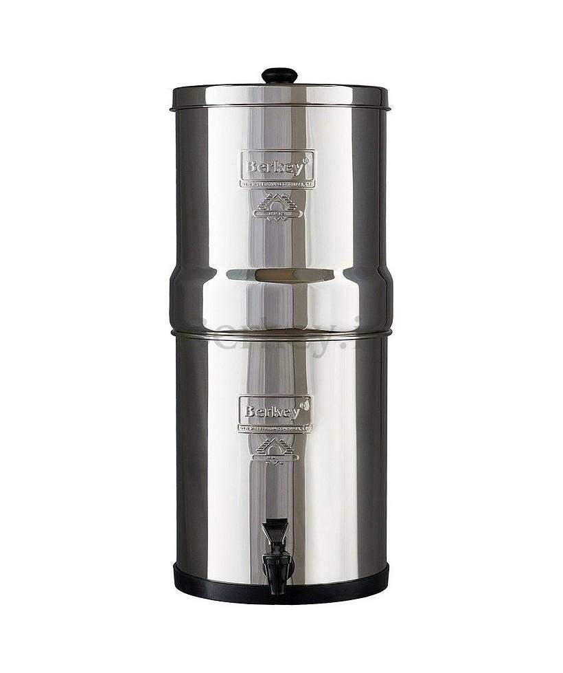 TRAVEL BERKEY : Depuratore d'acqua a gravità - Modello da 5,7 litri (Rif. :  BT4X2-BB).