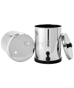 TRAVEL BERKEY : Filtro d'acqua - Riceve 2 filtri Black Berkey (Rif. :  BT4X2-BB).
